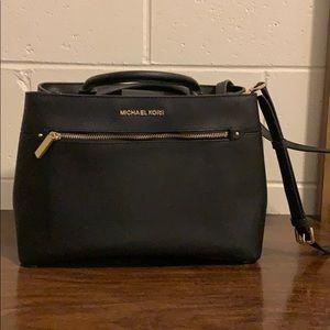 Black Michael Kors large crossbody bag